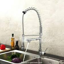 kraus commercial pre rinse chrome kitchen faucet pre rinse kitchen faucet collection chrome rinse kitchen faucet