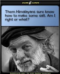 himalayan salt dumbecards com for even dumber occasions funny