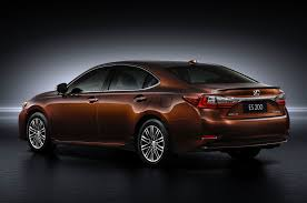 lexus sedan 2016 2016 lexus es revealed with new engine for shanghai