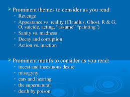 supernatural themes in hamlet hamlet lecture