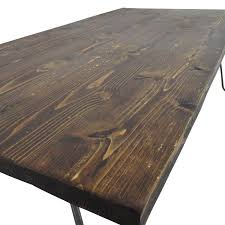 61 off custom made rustic reclaimed wood coffee table tables