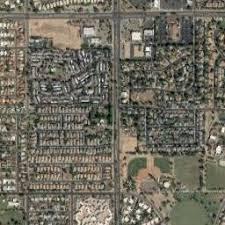map of chandler az satellite map of chandler az satellite images of