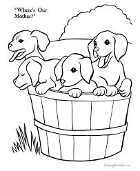 puppies farm coloring