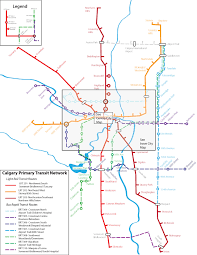 Calgary Map The Calgary Transitcamp Vision The Plan