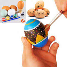 painted wooden easter eggs aliexpress buy new arrivals wooden easter eggs holder paints