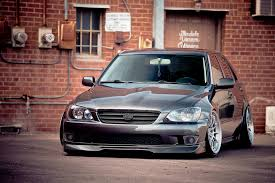 modified lexus is300 lexus is300 stanced on enkei nt03 s chris minshall flickr