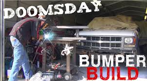 survival truck ultimate doomsday survival truck build part 2 bumper build
