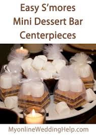 smores wedding favors how to make mini s mores bar centerpiece favors my online