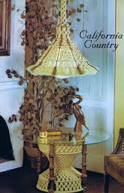 macrame pattern standing table hanging lamp vintage 70s california this is a digital file