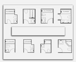 Bathroom Floor Plans Small 5ft X 8ft Standard Small Bathroom Floor Plan With Shower Small