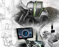 technisches design maschinenführer kabine collage technisches design die collage
