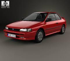 1992 subaru loyale sedan subaru 3d models hum3d