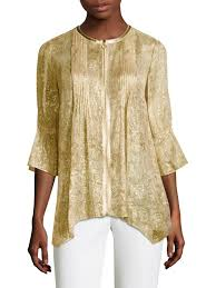 womens tops and blouses elie tahari miriam blouse gold s tops blouses 0400095505114