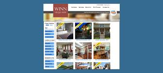web design and development for home remodeling portfolio omead