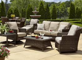 Wicker Patio Dining Sets Furniture Rattan Patio Furniture Fascinate Wicker Garden