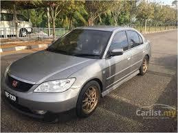 honda civic 1 7 vtec for sale honda civic 2005 vtec 1 7 in johor automatic sedan grey for rm