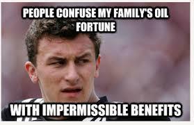Johnny Football Meme - suite sports johnny football problems