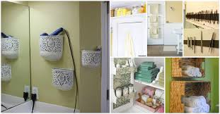 storage ideas bathroom 30 brilliant bathroom organization and storage diy solutions diy