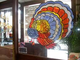 thanksgiving window painting painting from
