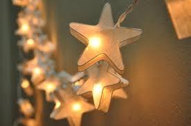 Outdoor Lantern String Lights by 35 White Star Lantern String Lights For Decoration Living Room