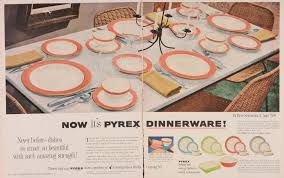 Corning Dishes Pyrex In The 50s Behind The Glass