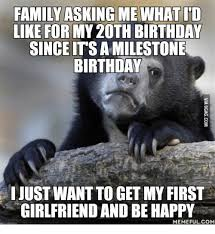 family askingmewhat id like for my2oth birthday sinceitsamilestone