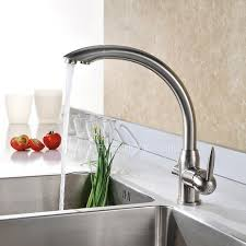 brushed nickel kitchen faucets best brass brushed nickel kitchen faucets two handle