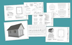Workshop Plans G391a 16 U0027 X 20 U0027 X 8 U0027 Bunkhouse Storage Shed Or Workshop Sds Plans