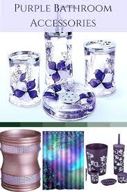 purple bath accessories top bathroom decorating ideas romantic