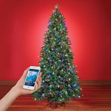 app controlled music and light show christmas tree the green head