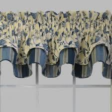 Waverly Valance Lowes Decor U0026 Tips Splashing Floral Waverly Curtains For Window