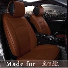 housse siege de voiture personnalisé personnaliser housse de siège de voiture en cuir pour audi a1 a3 a4