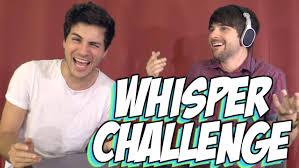 Challenge Smosh The Whisper Challenge