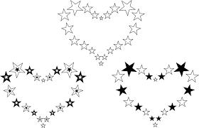 heart tattoo u2013 star hearts designs tattooshunter com