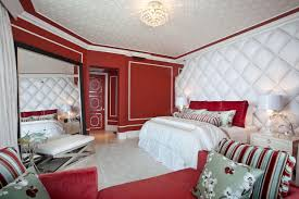 Bedroom White Red Contemporary Bedroom Colors Red Home Design Ideas - White and red bedroom designs
