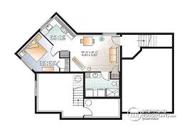 house plans with basement apartments multi family plan w3717 v1 detail from drummondhouseplans com