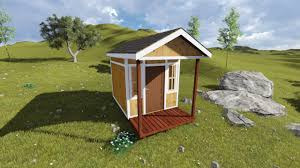 shed plans with porch 8x14 tall gable shed plan with porch