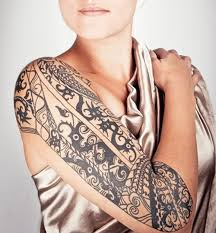 tattoos sleeve tribal for design idea for and