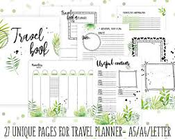 Trip Expense Tracker by Expense Notebook Etsy