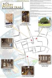 Harry Potter Map Oxford Map Explore Harry Potter Filming Locations Walking Trail