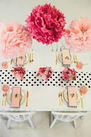 day table decorations pink polka dot s day brunch styled table martha stewart