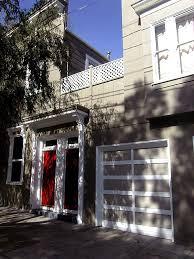 garage door paint ideas deck contemporary with condo deck door