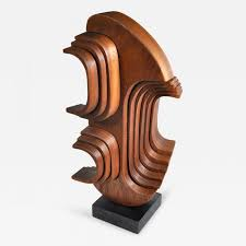 brian willsher abstract wooden sculpture