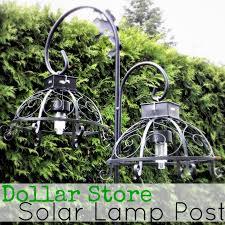 Solar Outdoor Lantern Lights - dollar store solar lights turned outdoor hanging lamps