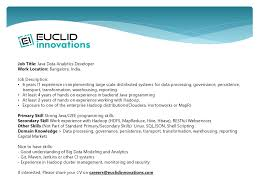 Resume Job Title Change by Euclid Innovations Linkedin
