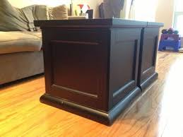 wood cube end table obo pottery barn end tables storage cubes for sale in chicago
