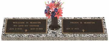 headstone markers bronze companion markers headstone cemetery monument marker