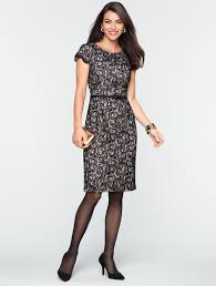 talbots all over lace dress events and occasions misses my