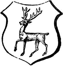 stag tripping clipart