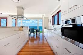 modern white kitchen ideas modern white and wood kitchen cabinets pictures of kitchens modern